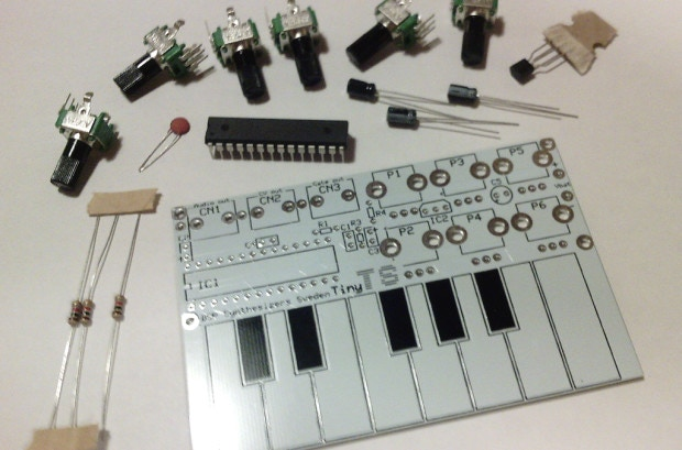 The Tiny-TS an Open-Sourced DIY Touch Synthesizer by Jan Ostman