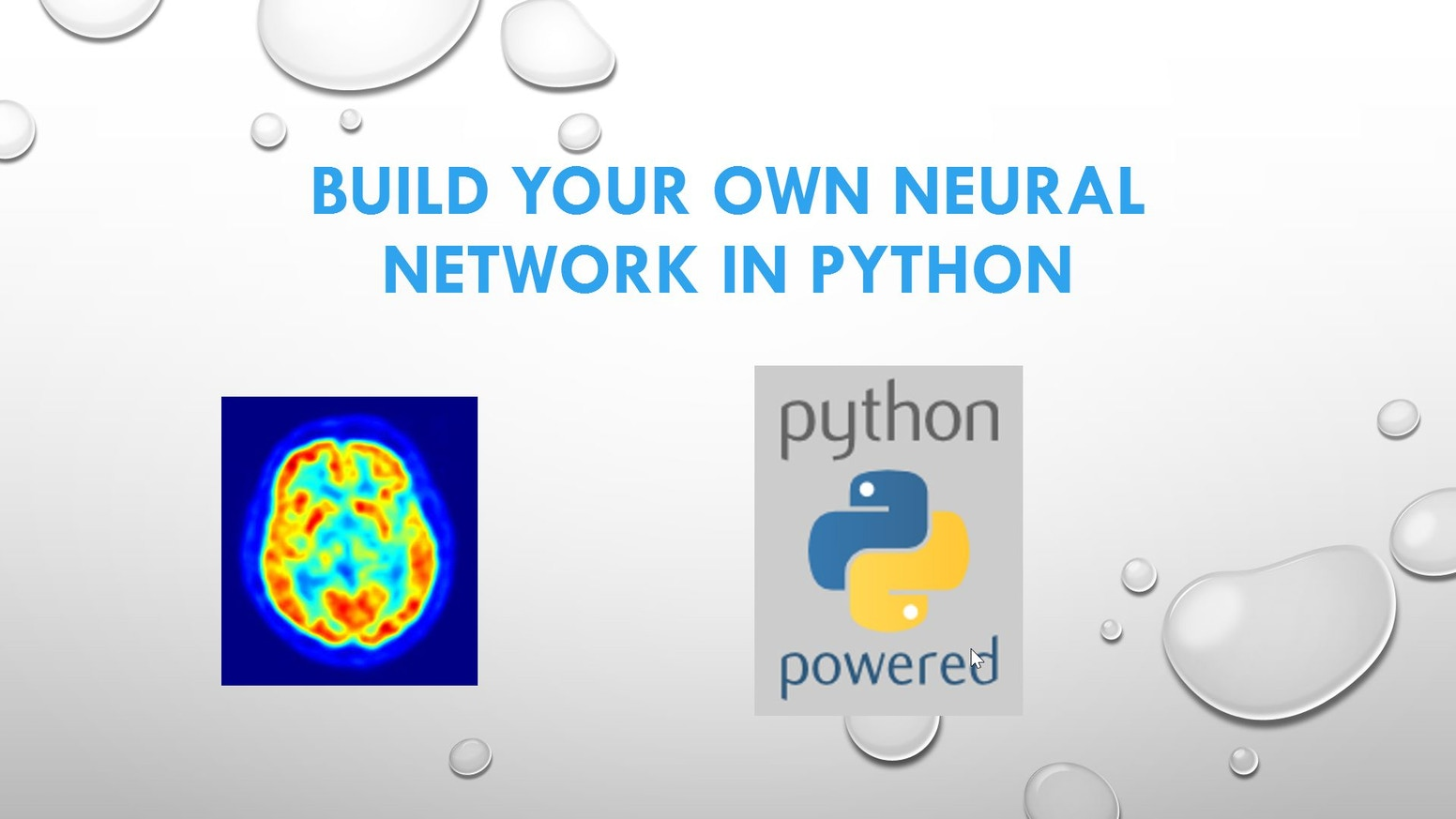 Build Your Own Neural Network in Python (Machine Learning) by