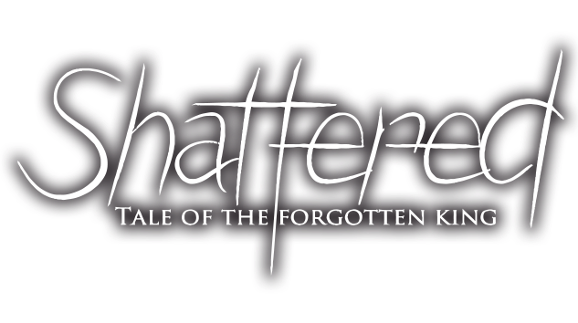 "Картинки по запросу ""Shattered - Tale of the Forgotten King logo"""