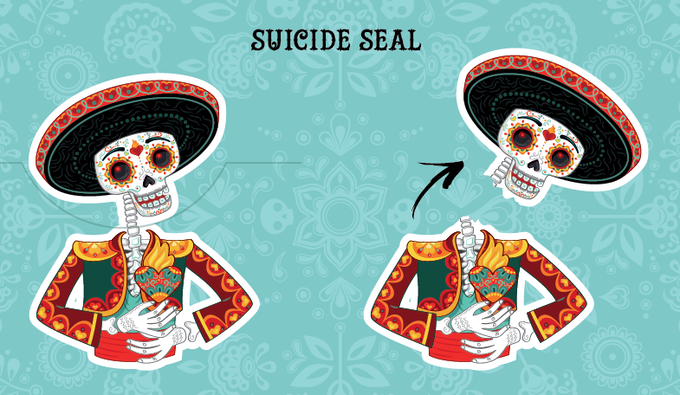 Suicide seal