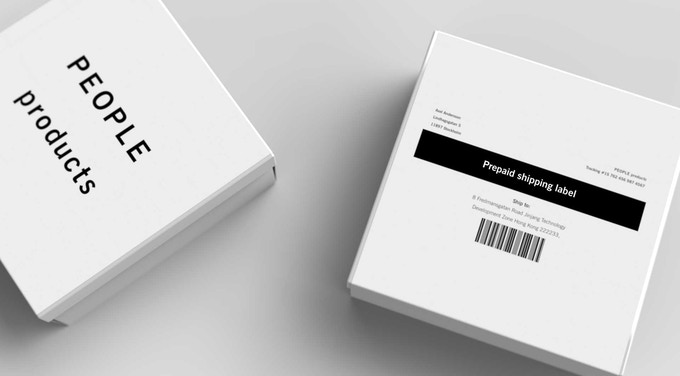 Packaging for closed loop shipping