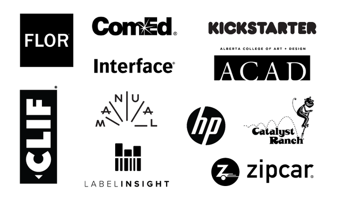 This is just a sampling of the companies and organizations with whom Resketch has worked on custom books.