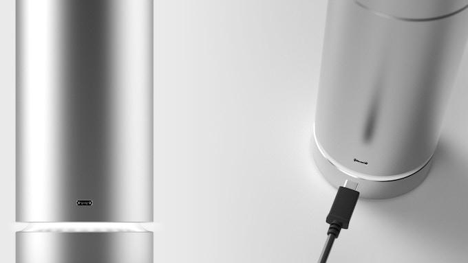 USB - C charging port