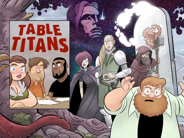 The D&D inspired comic by Harvey and Eisner award-winning creator Scott Kurtz. Table Titans Vol 1 and Table Titans Vol 2 now available!