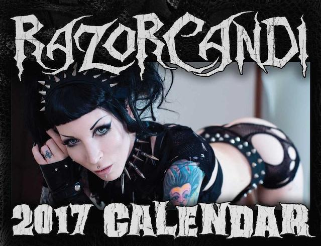 Sold Out RazorCandi Calendar
