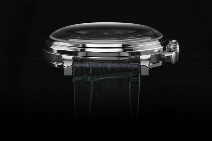 The most iconic feature on a vintage watch is a domed watch crystal.