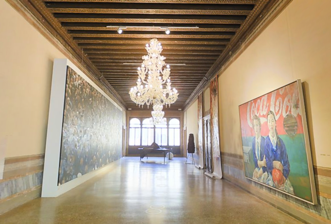 Personal Structures at the European Cultural Center during the 2015 Venice Biennale