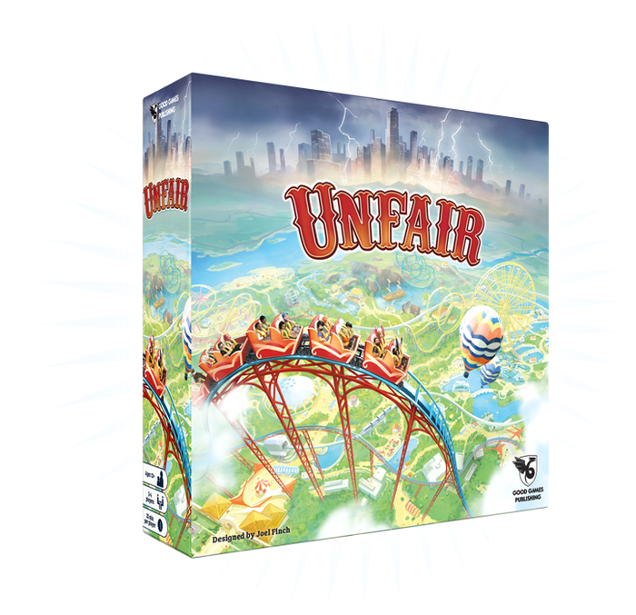 A theme-park building game with towering rides, deep strategy and high replay value. Build, bribe, blackmail - all the fun of the fair!