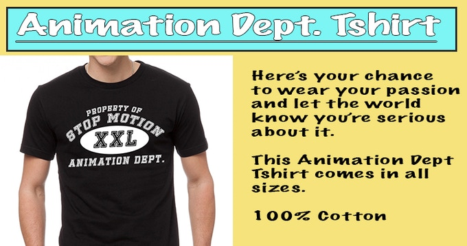 Animation Dept Tshirt