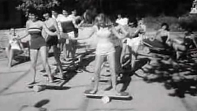 Vintage 1950s balance boards
