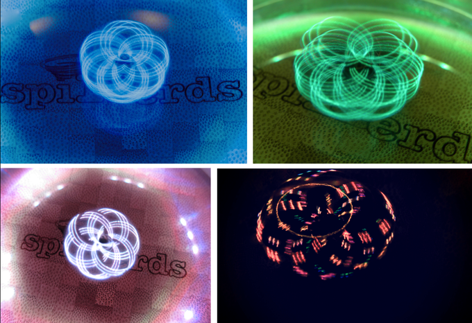 Spinballs Cool Color Effects
