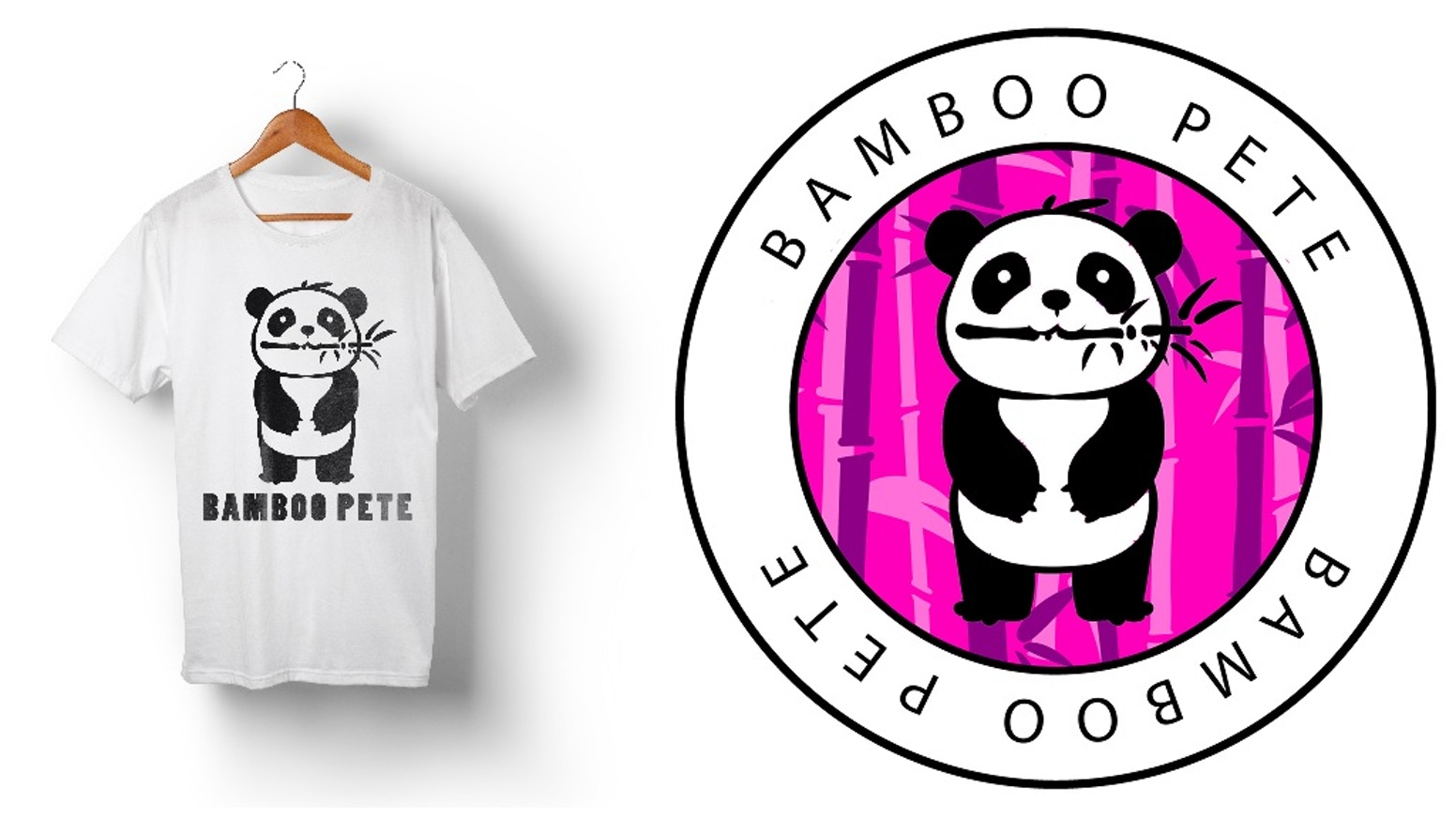 cf8ada86 Bamboo Pete Apparel: Panda T-shirts & more! by David Bowes — Kickstarter