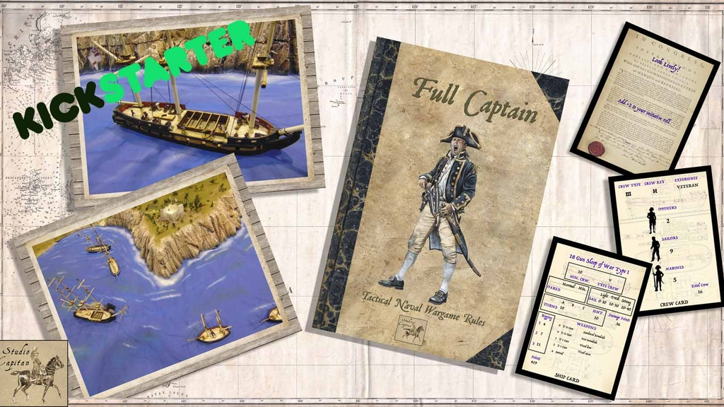 Full Captain 10mm Tactical Naval Rules plus Ships & Crews project video thumbnail