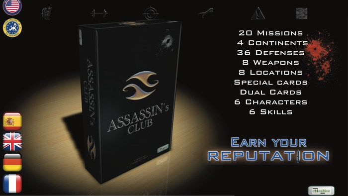 Ultimate Solo card game for the hitman you have deep inside, Ultimate multi player card game to have fun with friends.