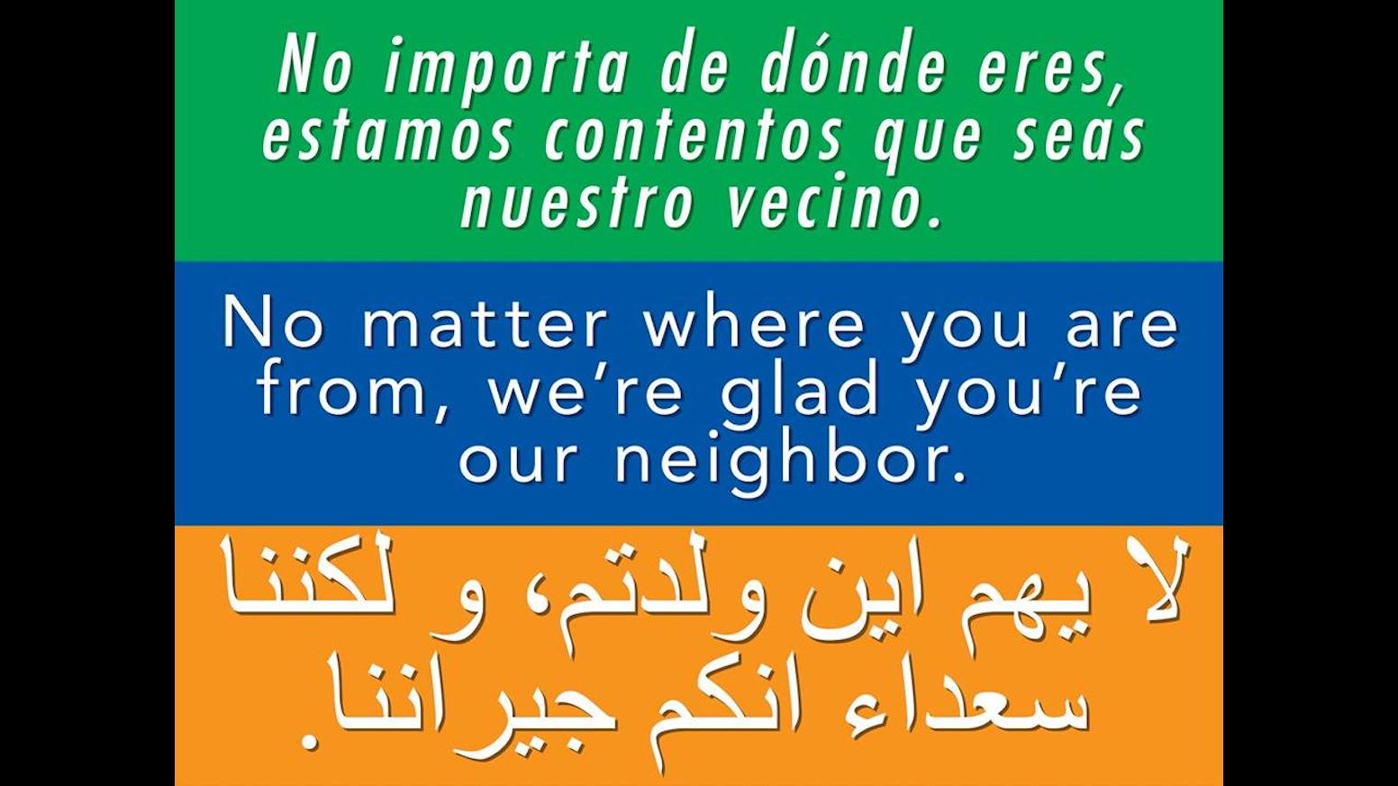 Bumper sticker creator canada - Welcome Your Neighbors Bumper Stickers