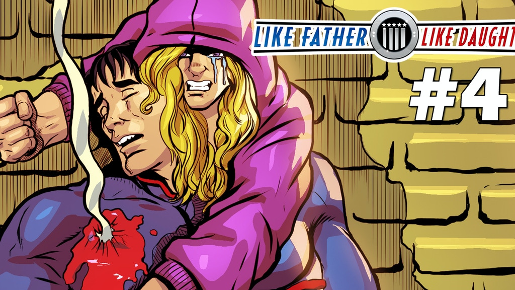 Like Father, Like Daughter #4 Comic Book (Make 100) project video thumbnail