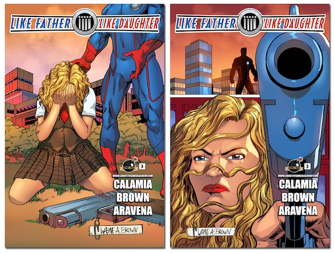 Issue #3 (Cover A and Cover B)