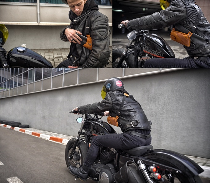 """Phonster X"" is the best solution for motorcyclists."