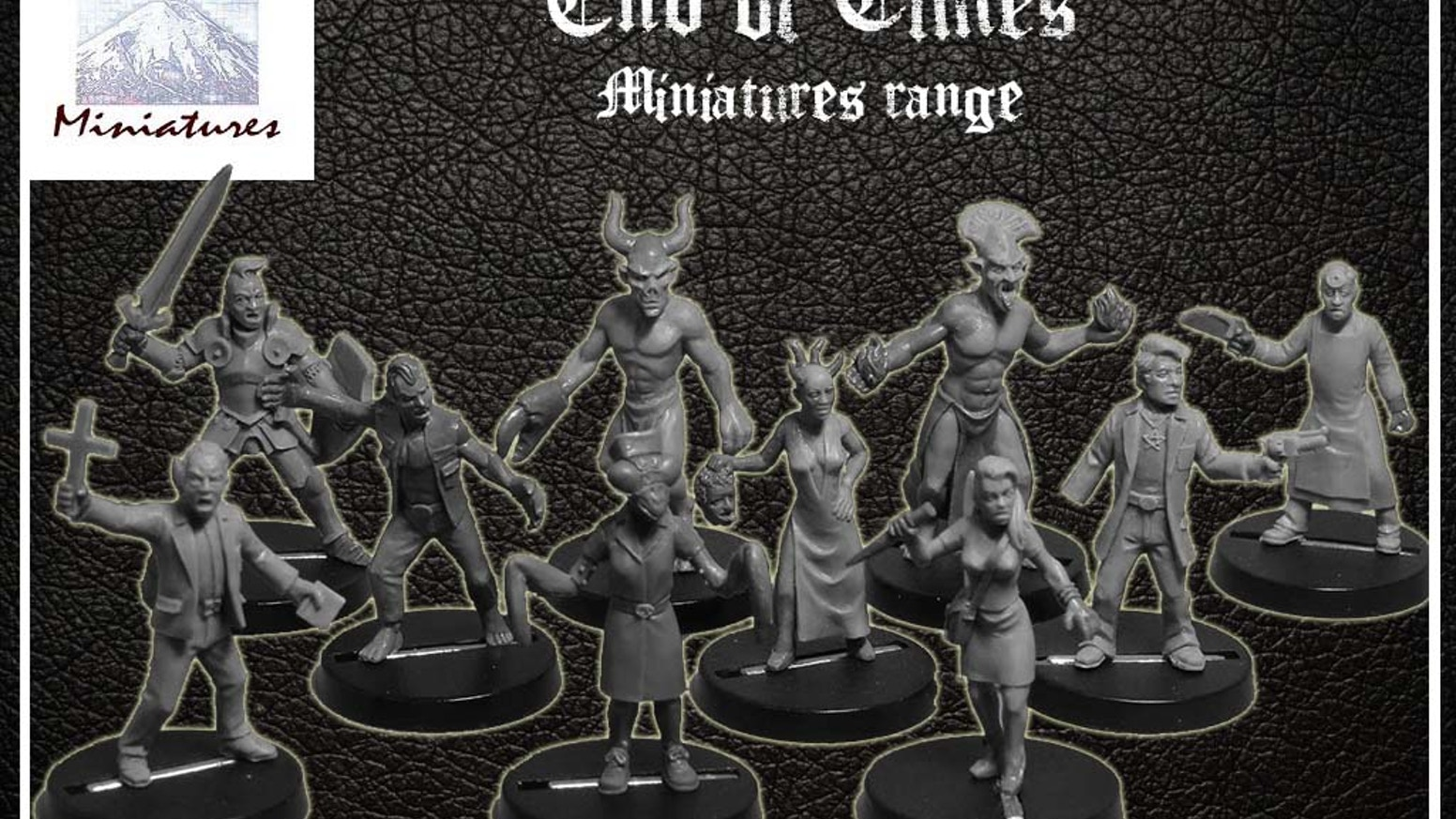 The End of Times! is a miniature range set in the near future where brave investigators are attempting to prevent the coming apocalypse