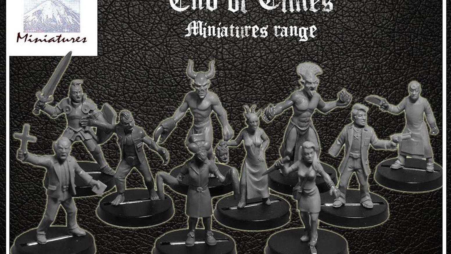 End of Times! miniatures range by Ian Mountain » Large Djinn