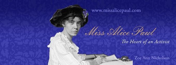 Visit Miss Alice Paul Website