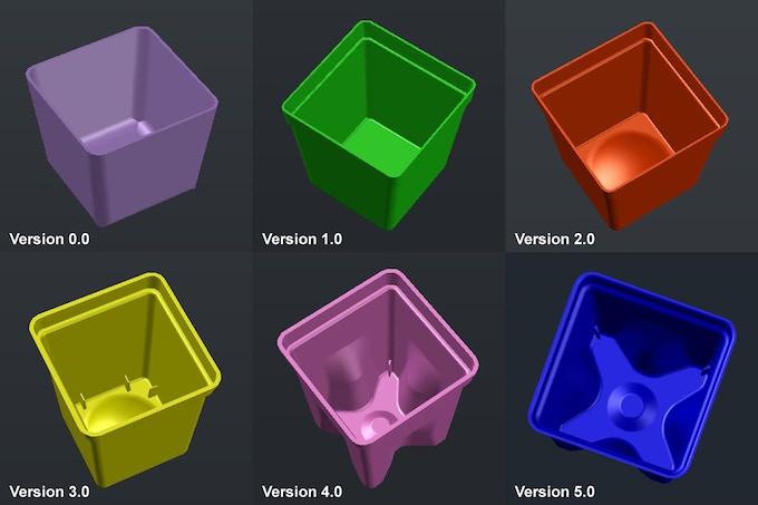 Cup Design Evolution