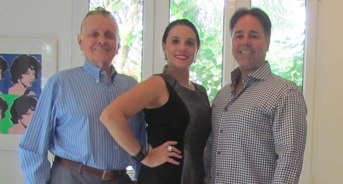 Horacio Trucco, Martina Trucco and Luigi Gonzalez