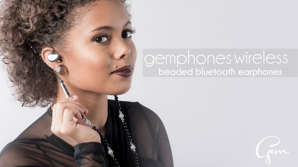 GemPhones Wireless | Bluetooth Necklace Earphones for Women project video thumbnail