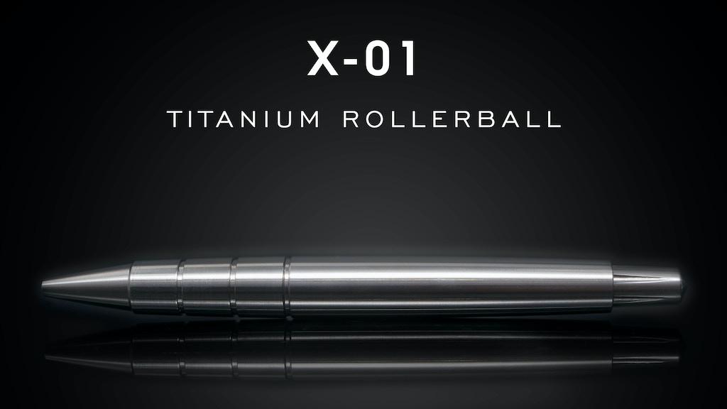 X-01 Titanium Pen project video thumbnail