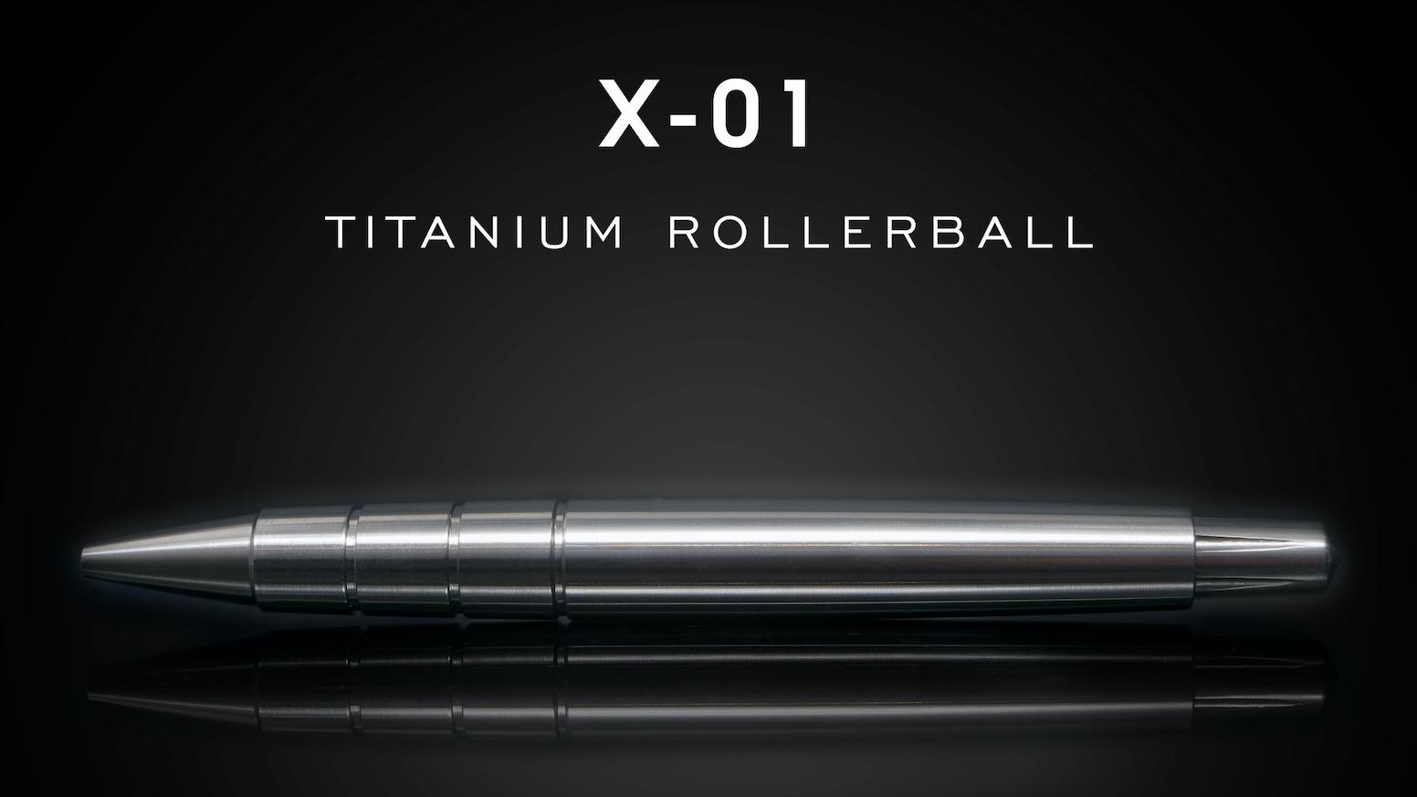 Minimalist capless pen in titanium, brass or aluminium. Timeless design & premium materials for the ultimate writing experience.