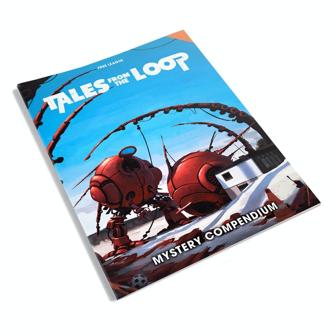 tales from the loop roleplaying in the 80s that never was by fria