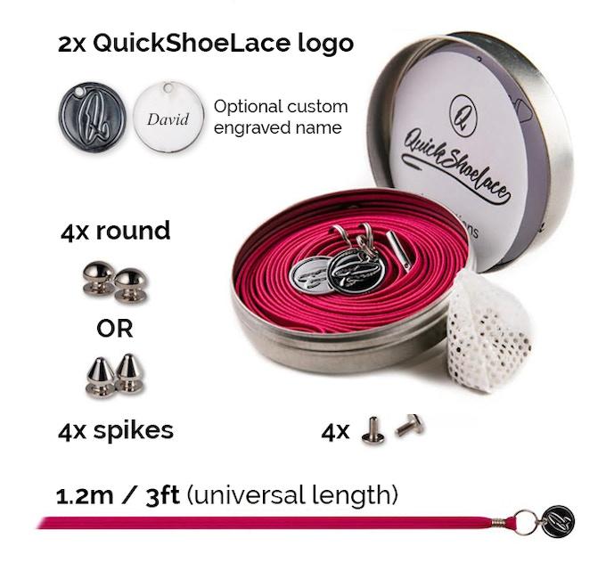 1 x QuickShoeLace