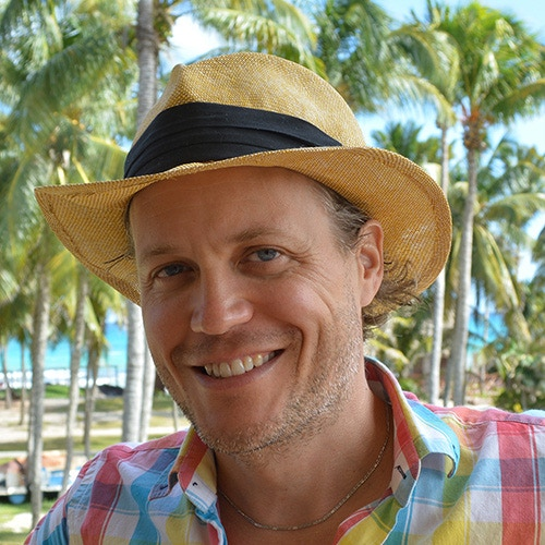 Don Martin in his trademark Panama Hat.