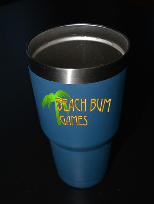 The Official Beach Bum Games Mug
