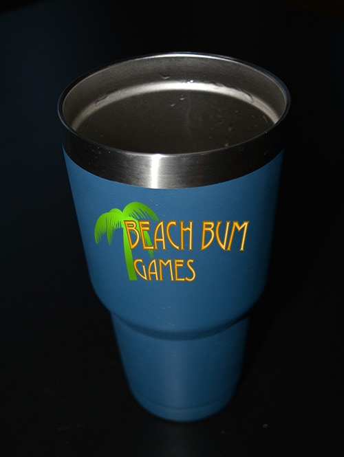 The Official Beach Bum Games Mug
