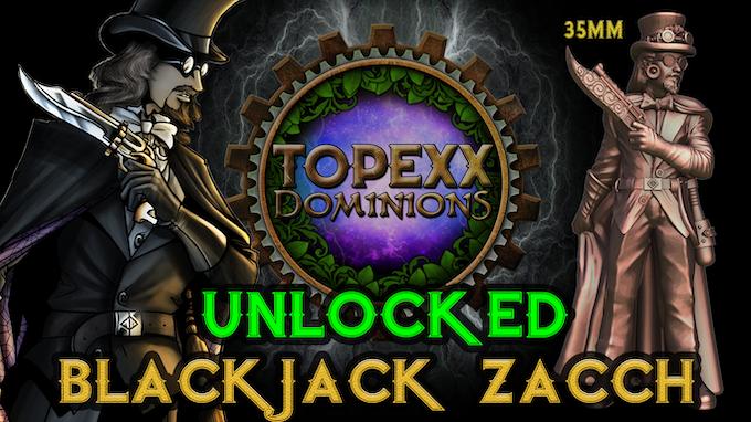 35mm Blackjack Zacch, Intelligencer Extraordinaire