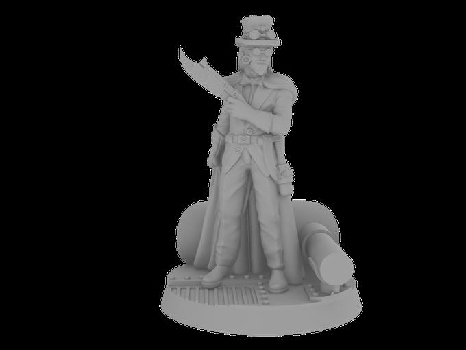 Blackjack Zacch on His Custom Designed Base