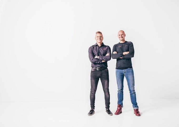 Ari Laakkonen and Jarkko Kortelainen