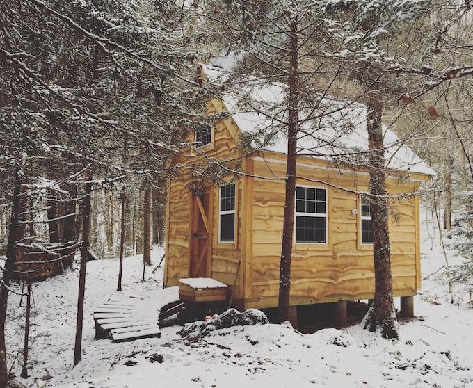Kyles kleines Haus in den Wäldern Nord-Vermonts