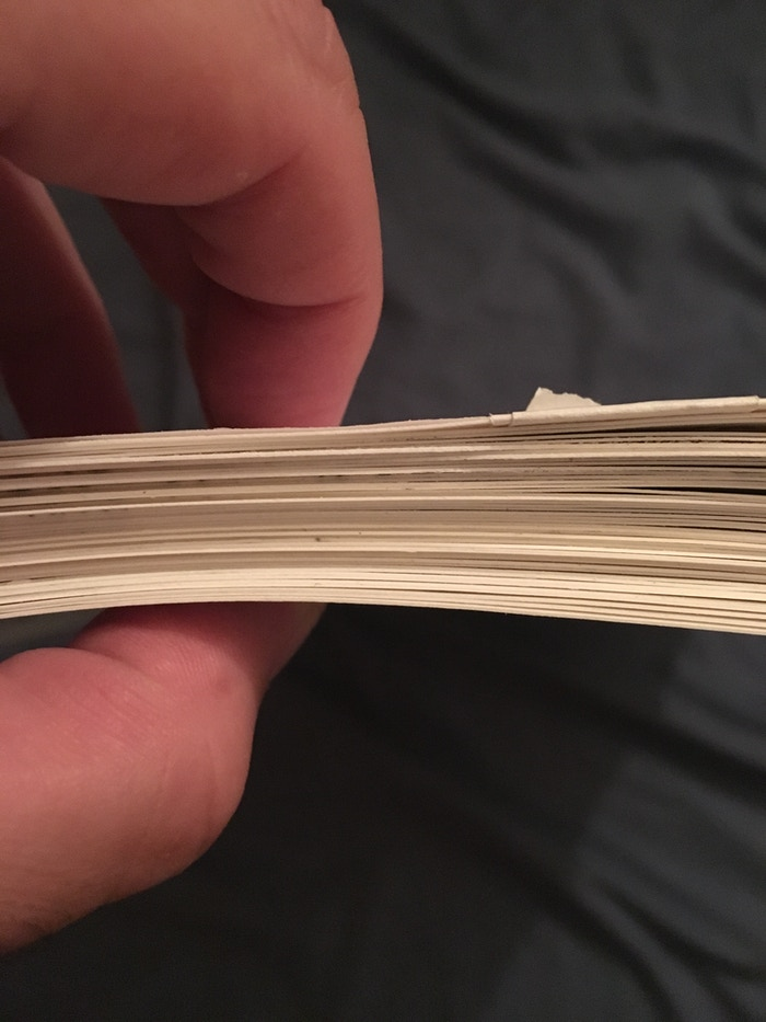 Book 5! An inch thick of inked pages!