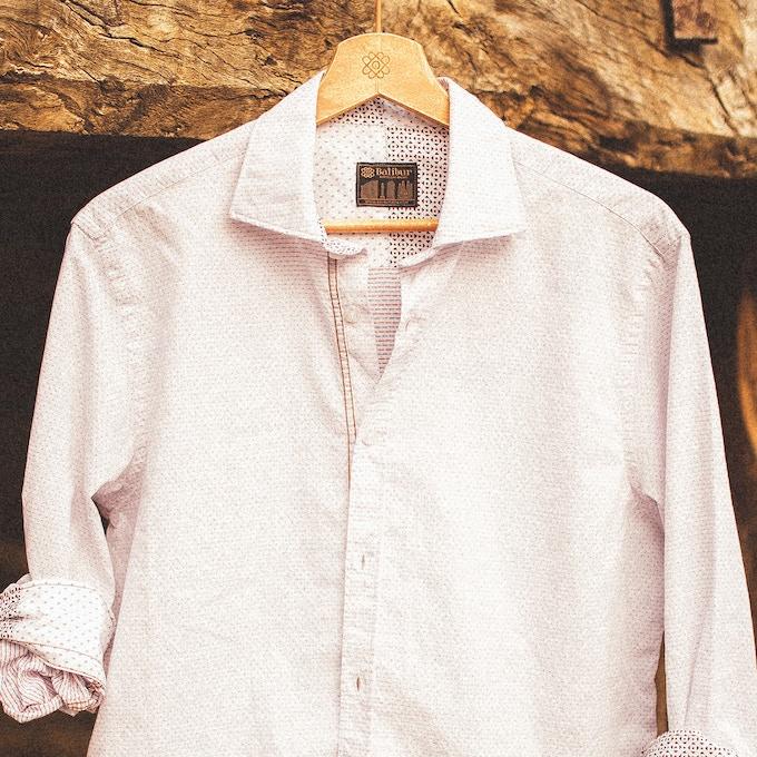 Camisa Pau detalle
