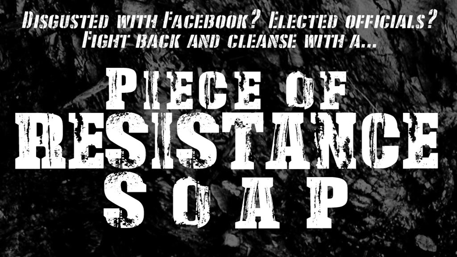 Every resistance begins with small pieces until it becomes a movement. Why not start with soap? Begin fresh, energized, and cleansed.