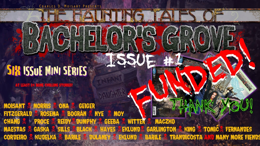 Haunting Tales Of Bachelors Grove First Of 6 Comic Books By