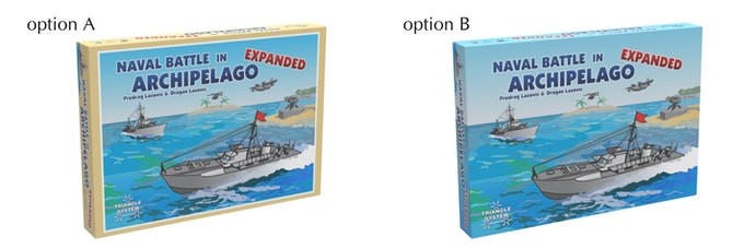 Naval Battle in Archipelago (board game) by Forsage Games