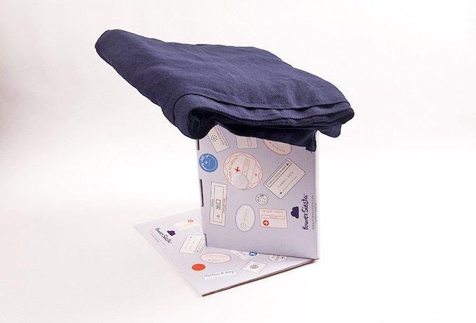 With a pillow or folded jacket or scarf on top, travelers can wrap their arms around it, rest their head and drift off to dreamland for hours at a time