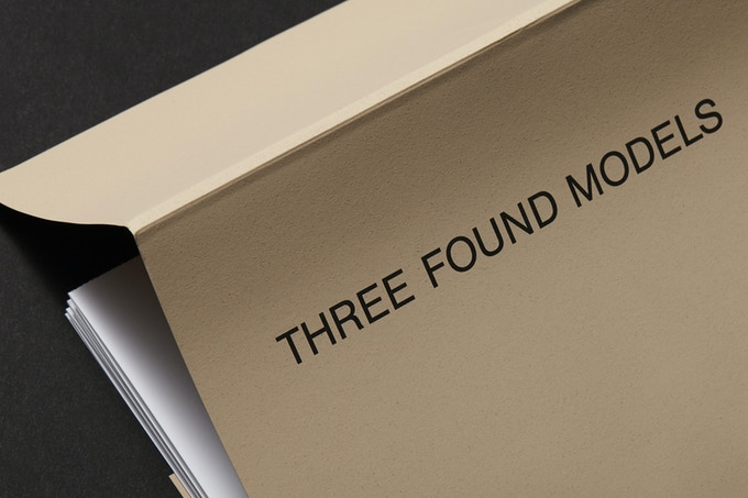 Three Found Models cover