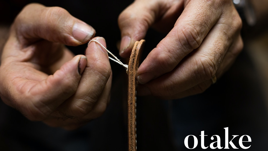 Otake - Handmade MacBook Laptop Leather Cover project video thumbnail