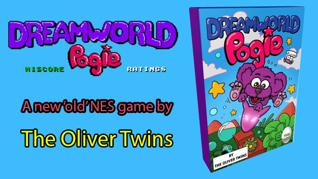 Dreamworld Pogie - A 'new' old game by The Oliver Twins project video thumbnail