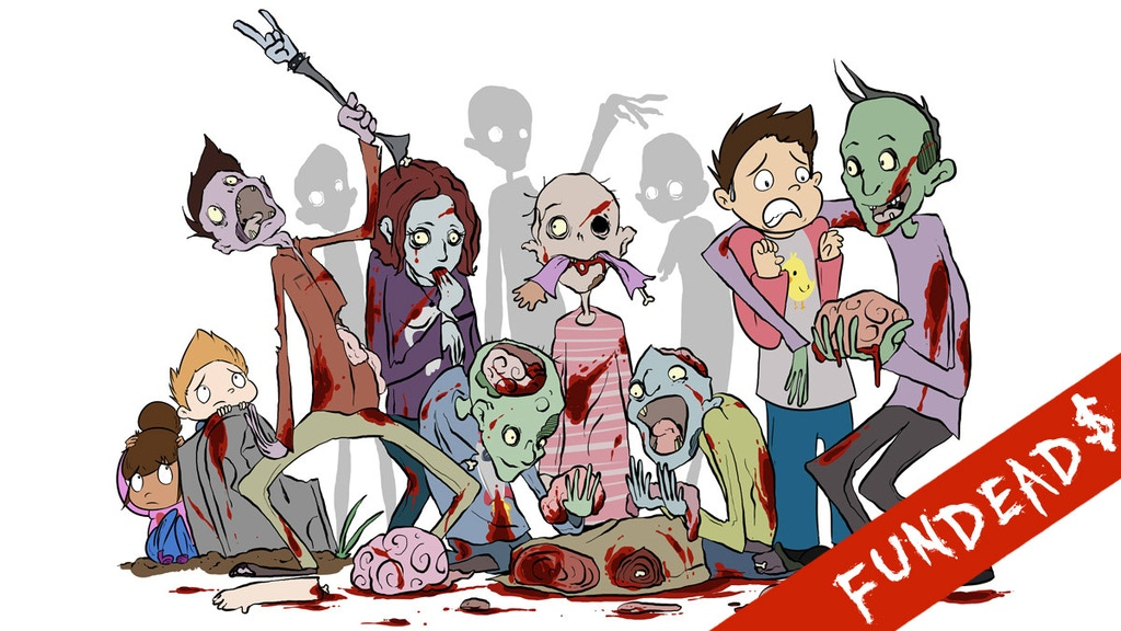 The A, B, Zeees - A Zombie Alphabet Book project video thumbnail