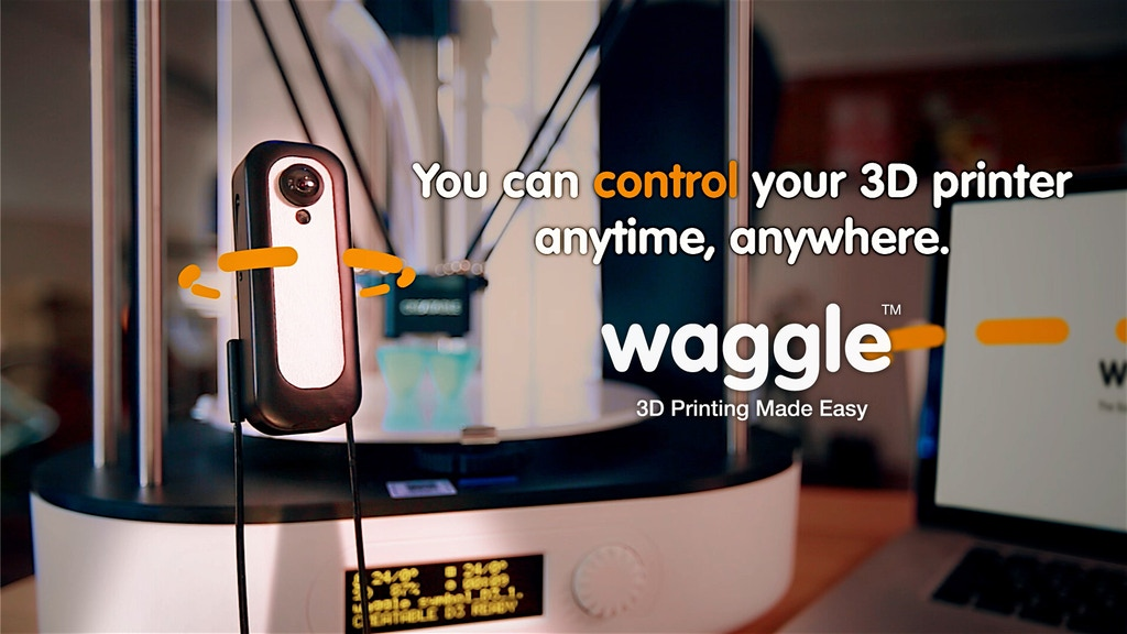 Waggle : 3D Printing Made Easy project video thumbnail